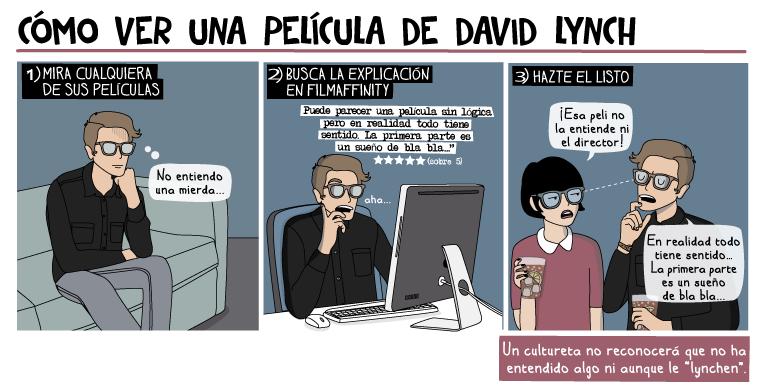 Cómo ver una película de David Lynch